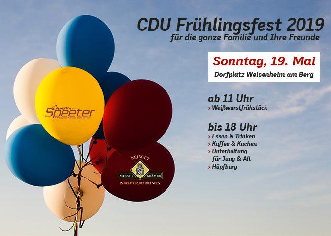 CDU Frühlingsfest 2019